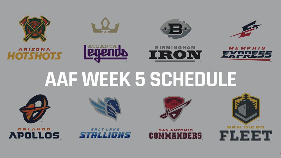 aaf-week-five-schedule-FTR