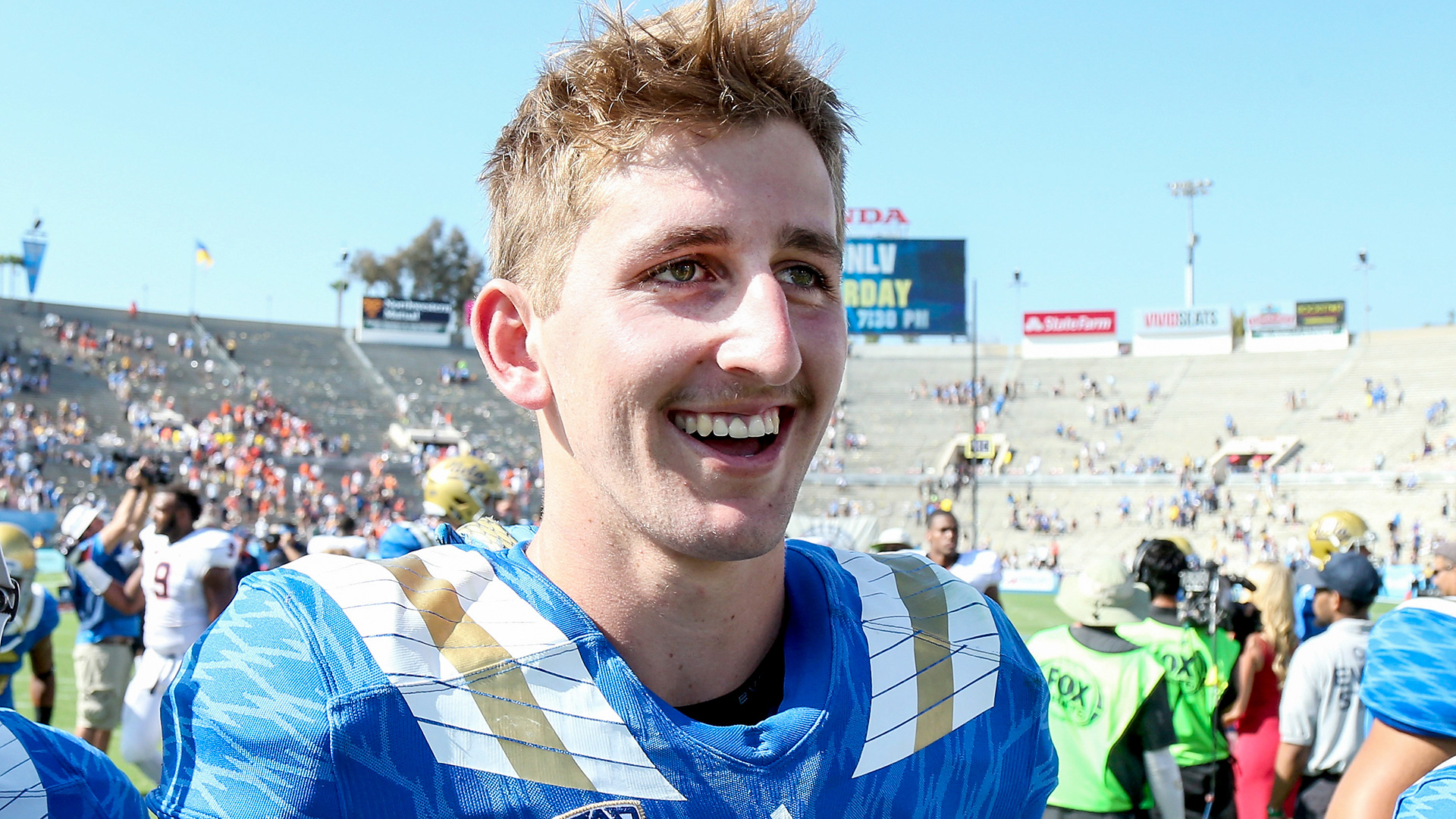 UCLA QB Josh Rosen knows there is life after football