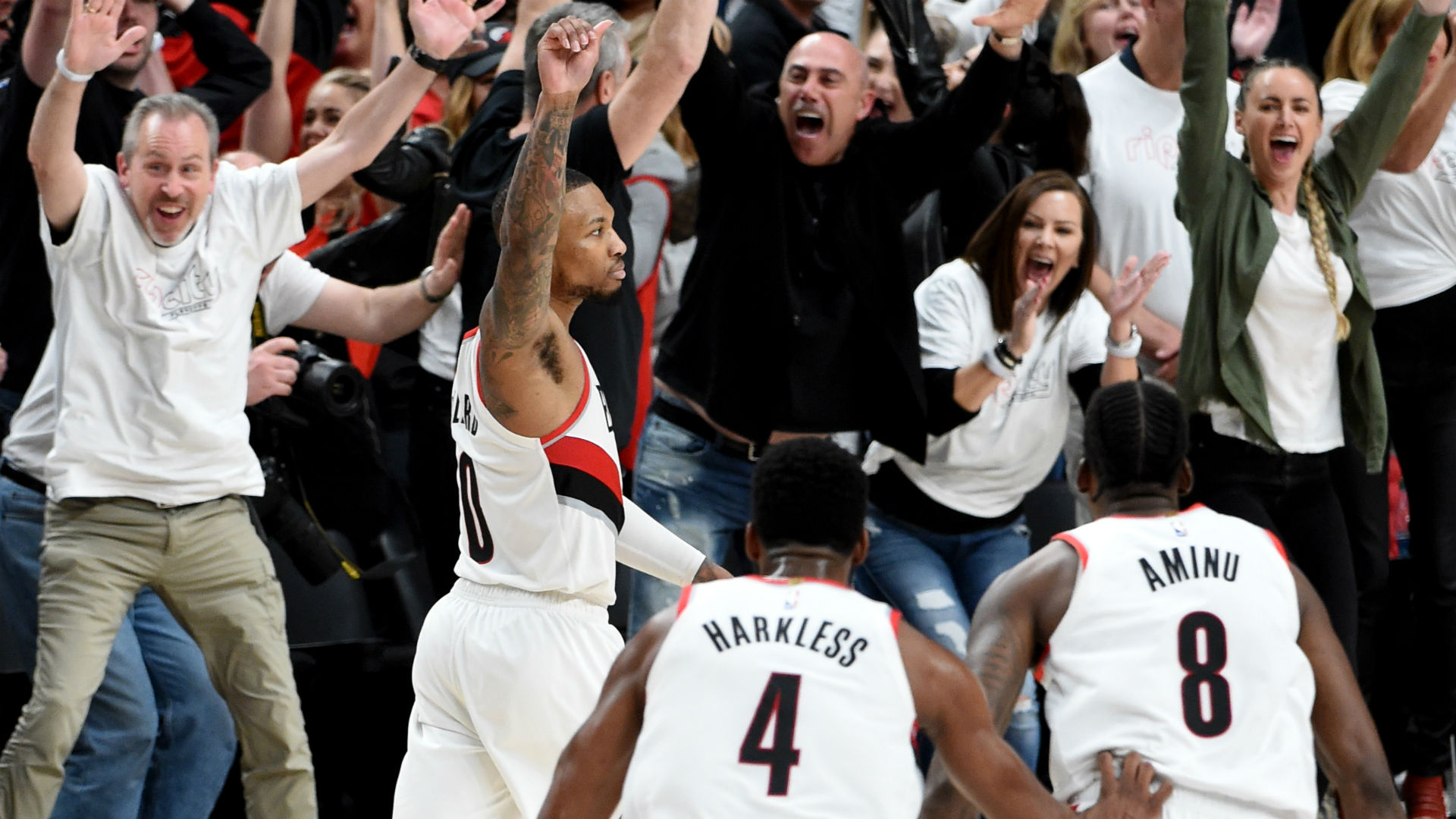 Trail Blazers' Damian Lillard, Enes Kanter, Jusuf Nurkic send parting shots at Thunder