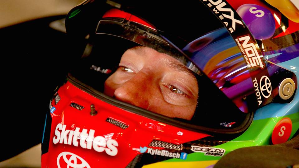 Indianapolis Starting Lineup Candy Is Dandy Kyle Busch Is Quicker