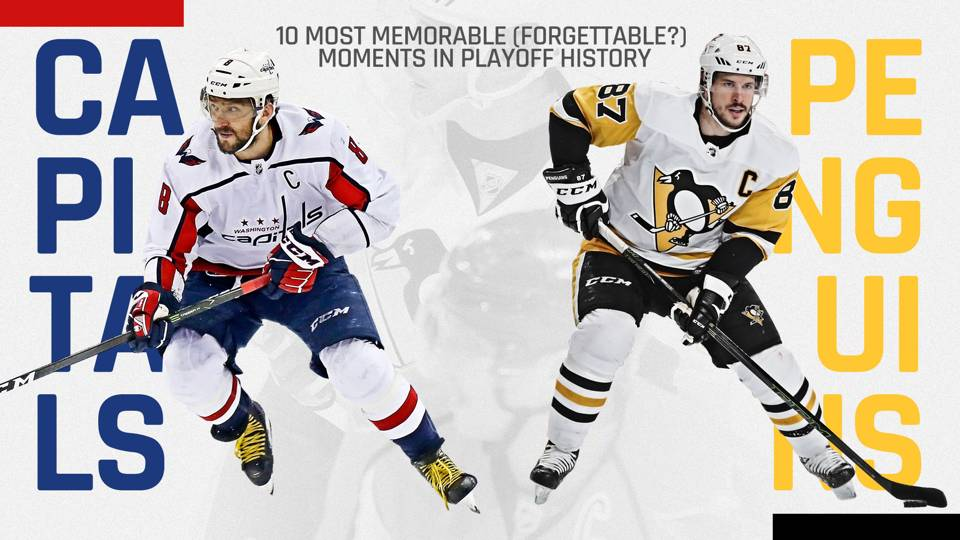 Penguins vs. Capitals  10 most memorable (and forgettable) moments in  playoff rivalry 4bf949a3751f
