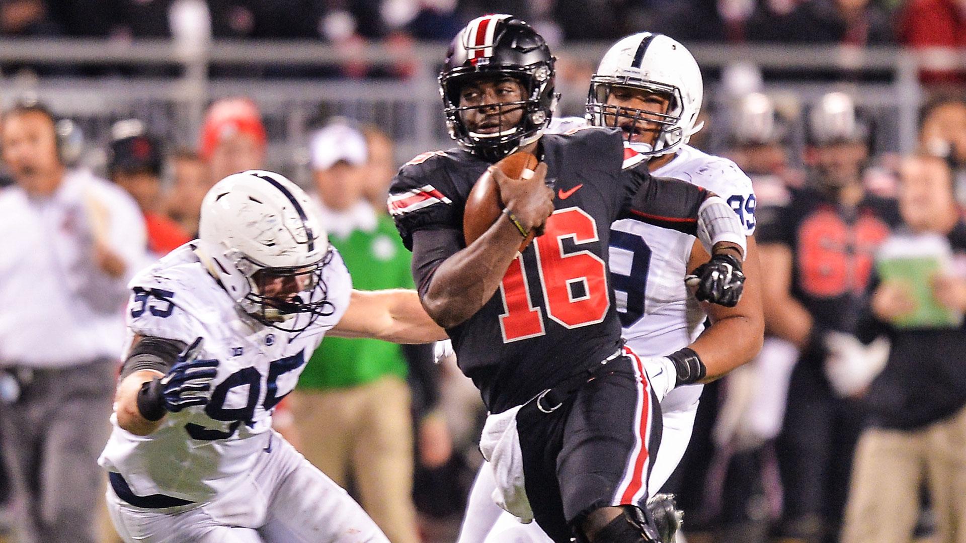 J T Barrett Named Starting Quarterback For Ohio State