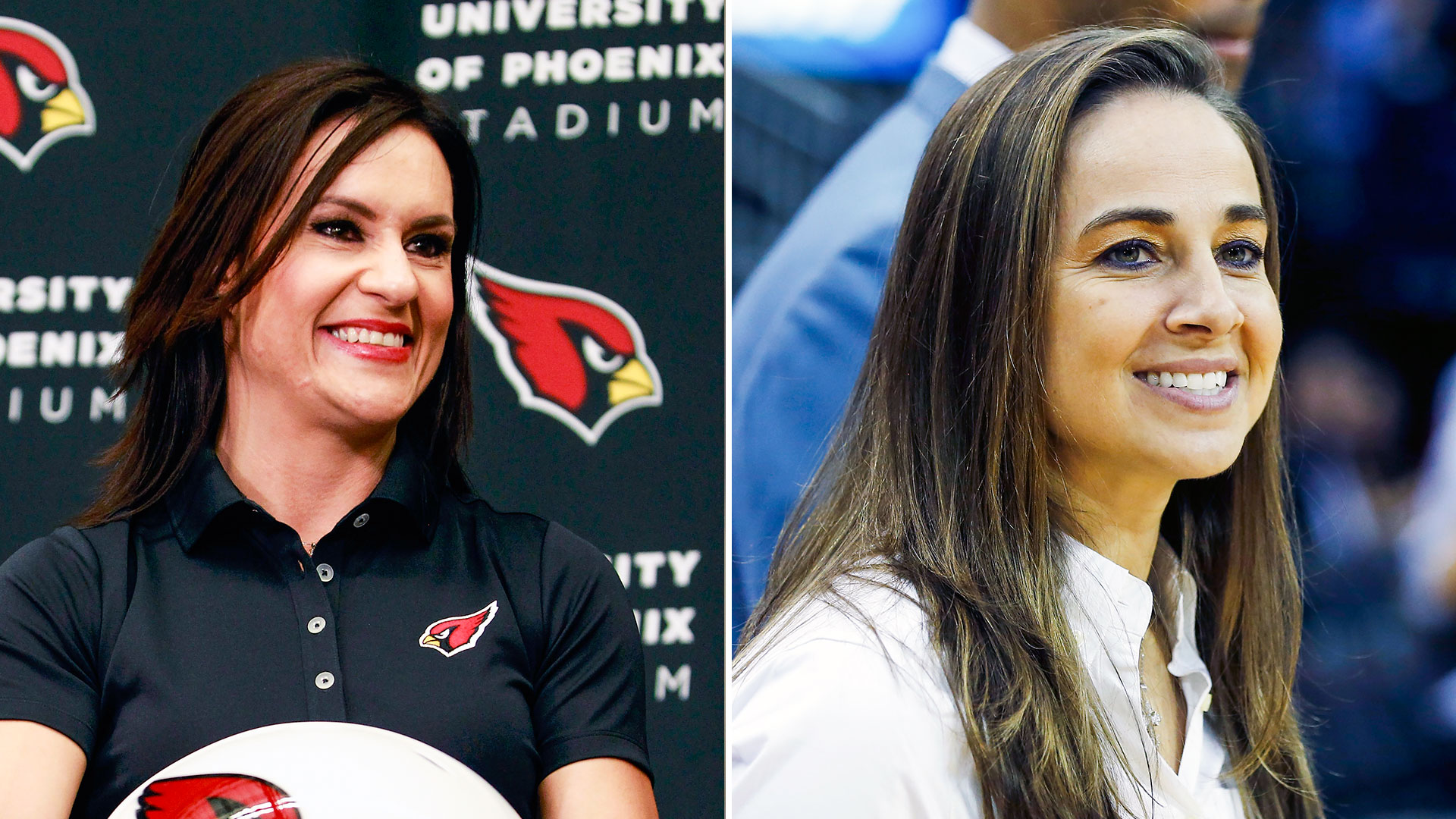 Jen Welter, Becky Hammon in the coaches' meetings, right where they belong