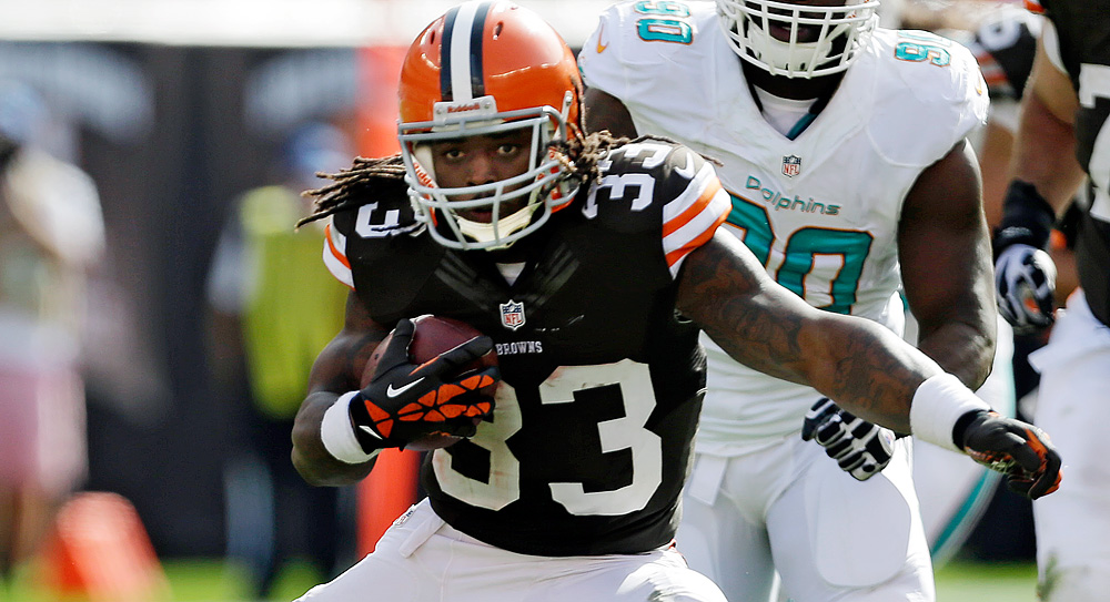 Fantasy Football Freakout: Browns RB Trent Richardson