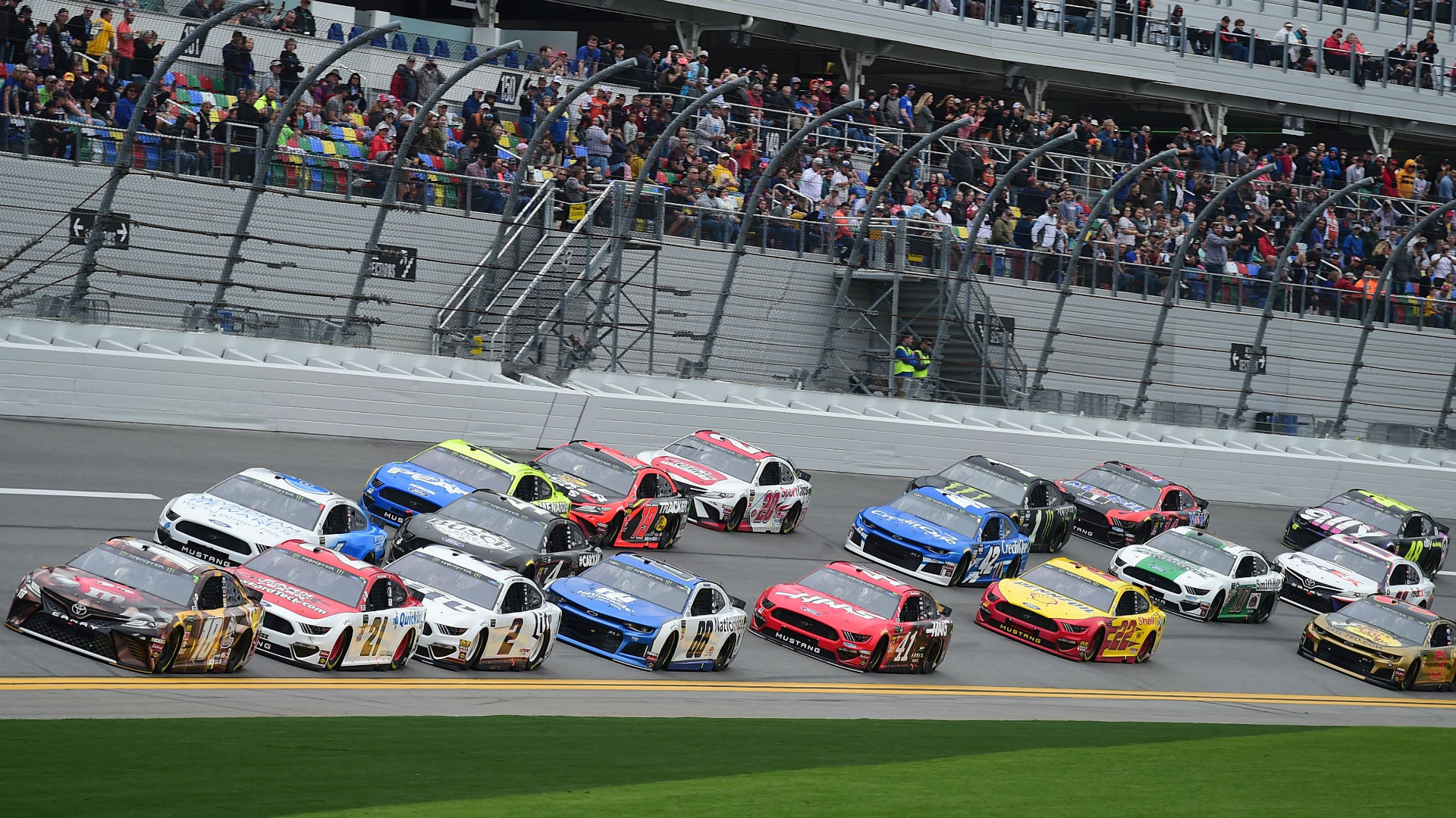 Wild NASCAR crash causes chaos at the Daytona 500