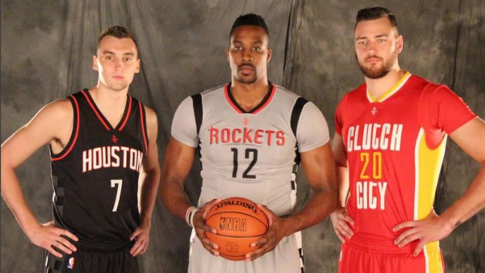 4cfd10c24 Rockets unveil three new alternate jerseys  they re all trash · NBA