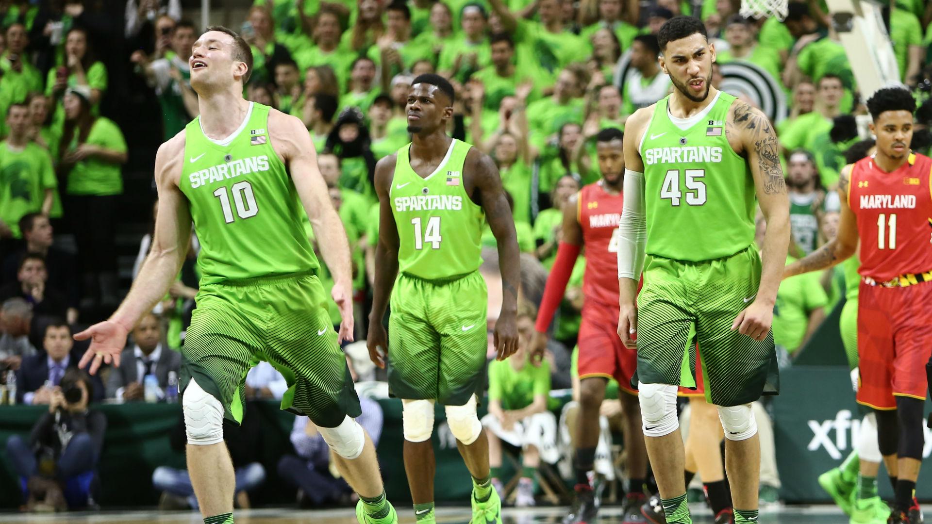 Michigan State won't wear lime green uniforms again this season | NCAA Basketball | Sporting News