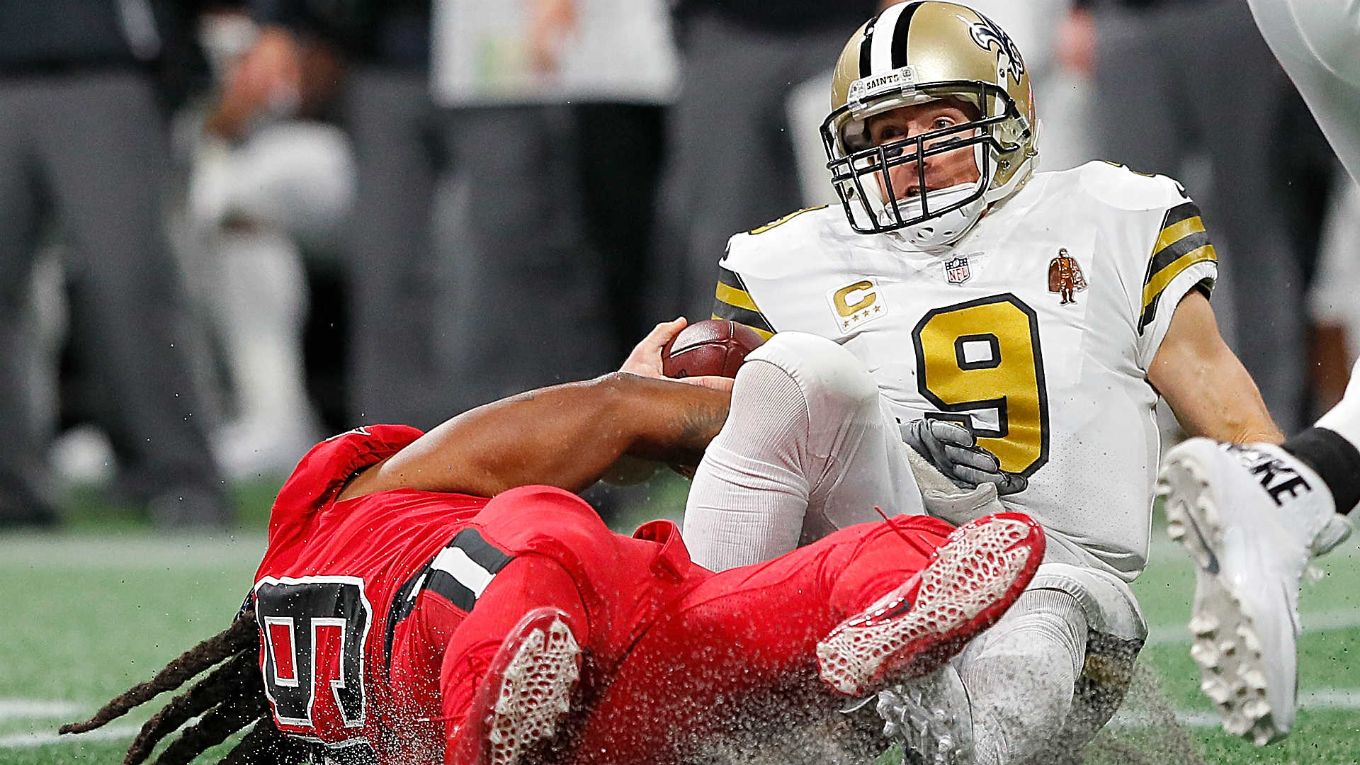 Saints QB Drew Brees blames short week for rash of injuries