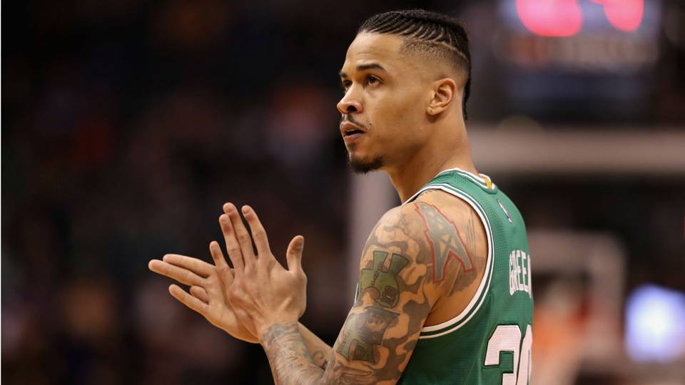 Green In gerald green driving around houston trying to help affected