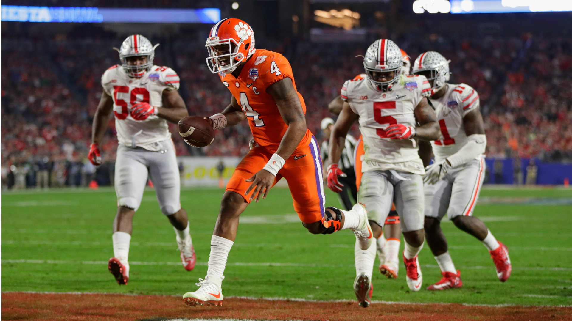 Clemson band relives Fiesta Bowl shutout of Ohio State