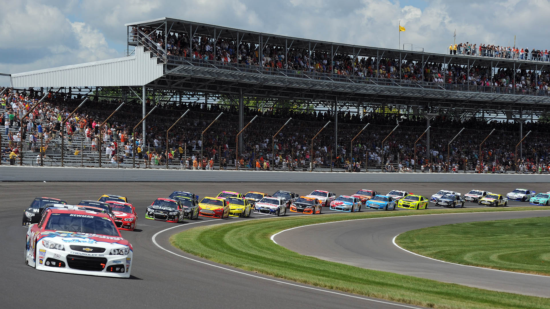 Tv coverage for brickyard 400 nascar races at indy for The indianapolis motor speedway