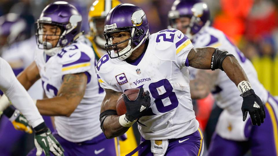 Adrian peterson is starting to look like the adrian peterson of old