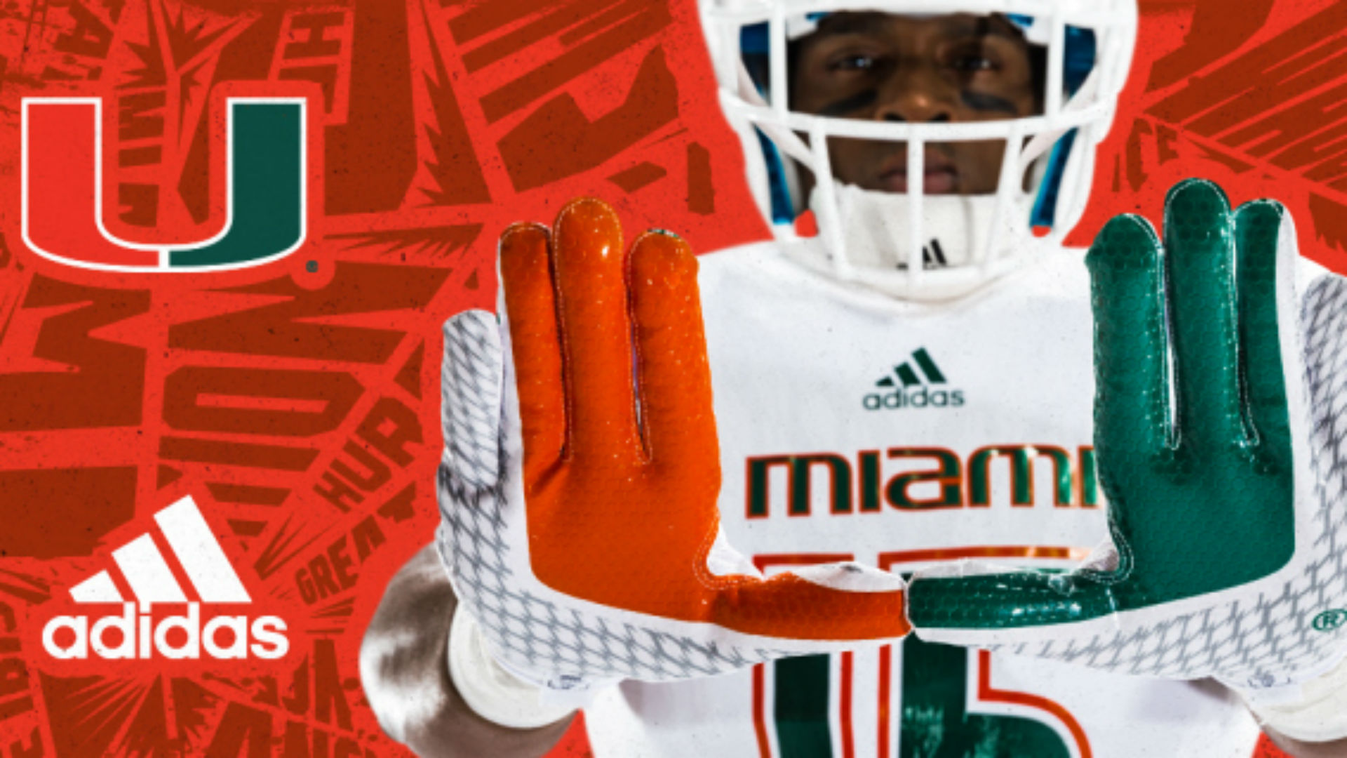 Miami Hurricanes Reveal New Adidas Uniforms In Flashy Way