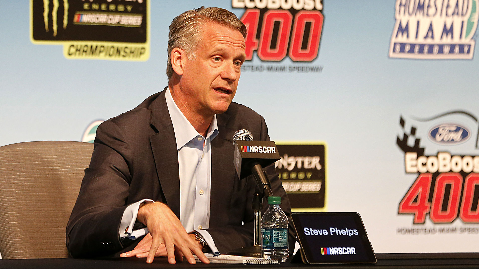NASCAR president Steve Phelps points to healthy trends within sport