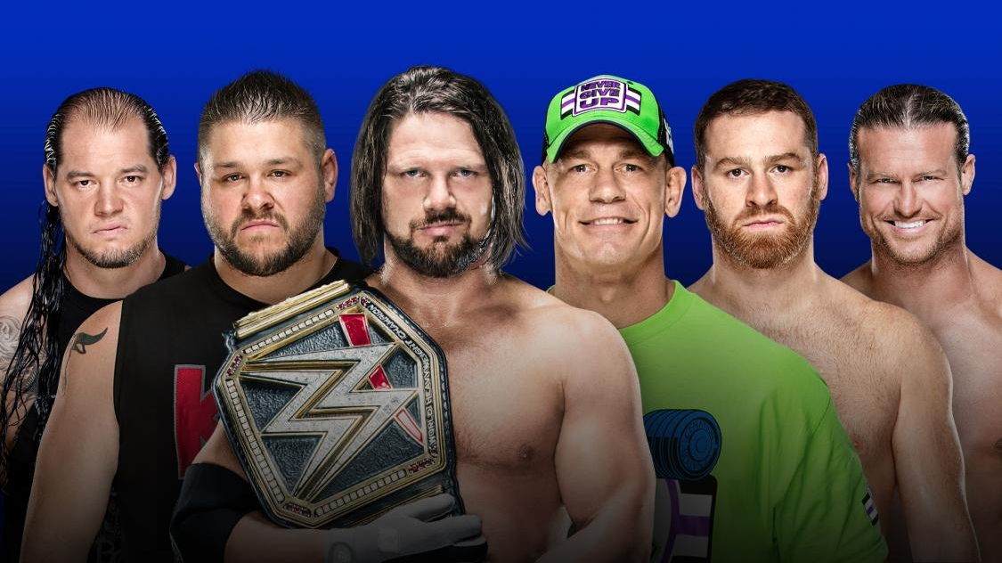WWE Fastlane 2018 results: AJ Styles punches WrestleMania ticket ...