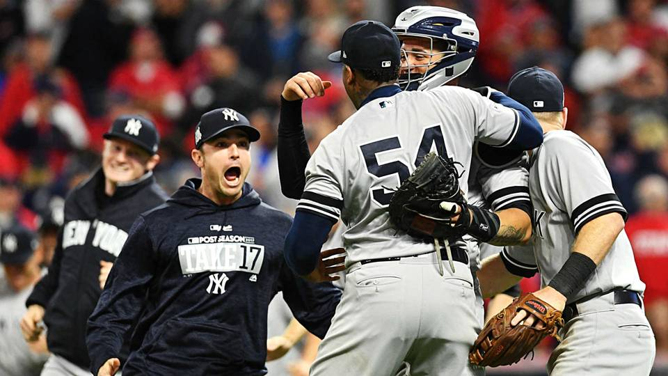 Yankees vs Indians Score highlights from Bombers ALDS Game 5