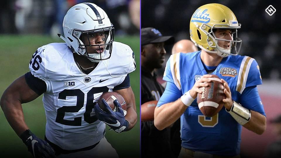 NFL Mock Draft 2018  Giants run to Saquon Barkley  Jets can t pass on QB 25e461866