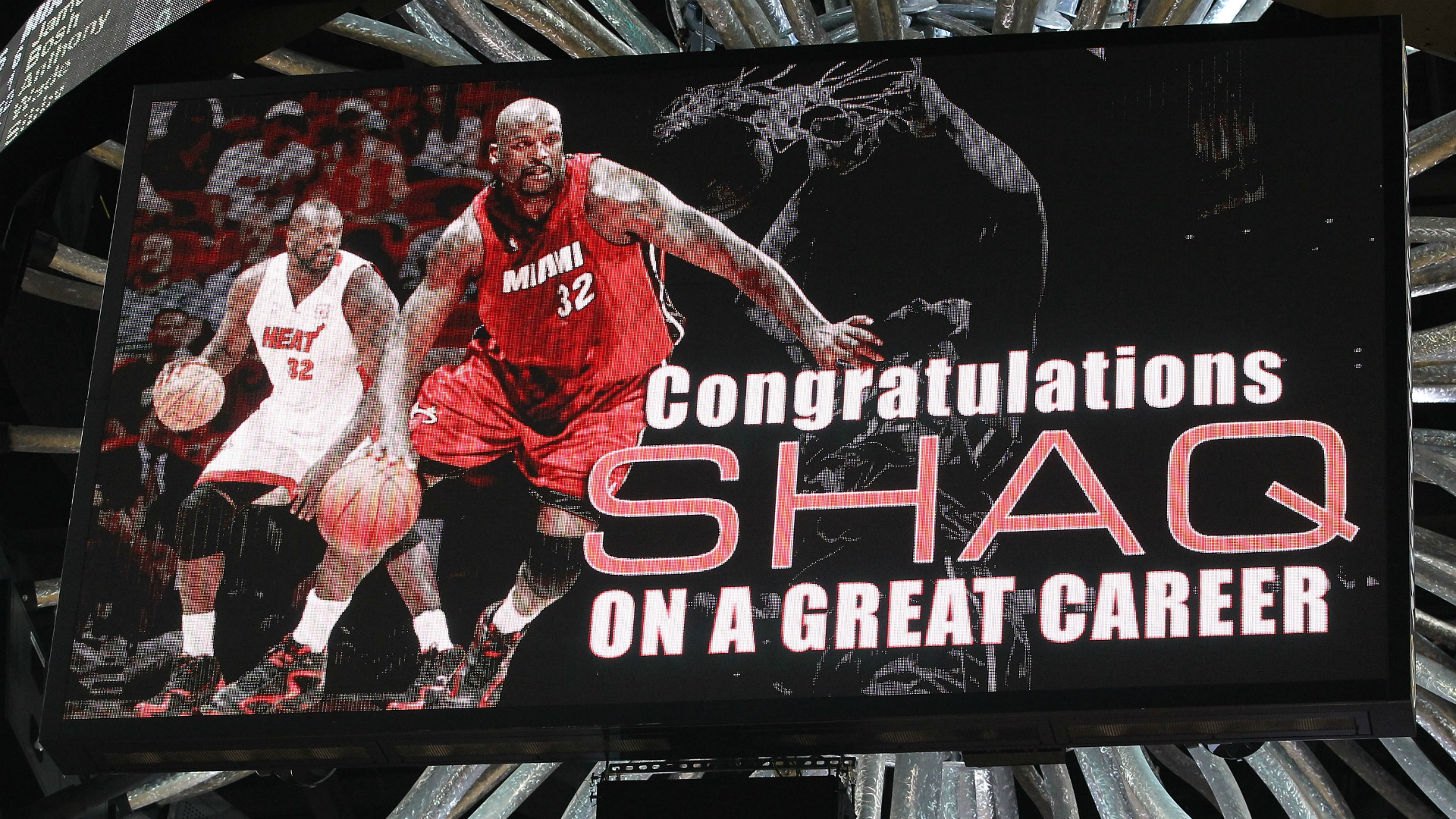 Heat will retire Shaq's No. 32 jersey on December 22