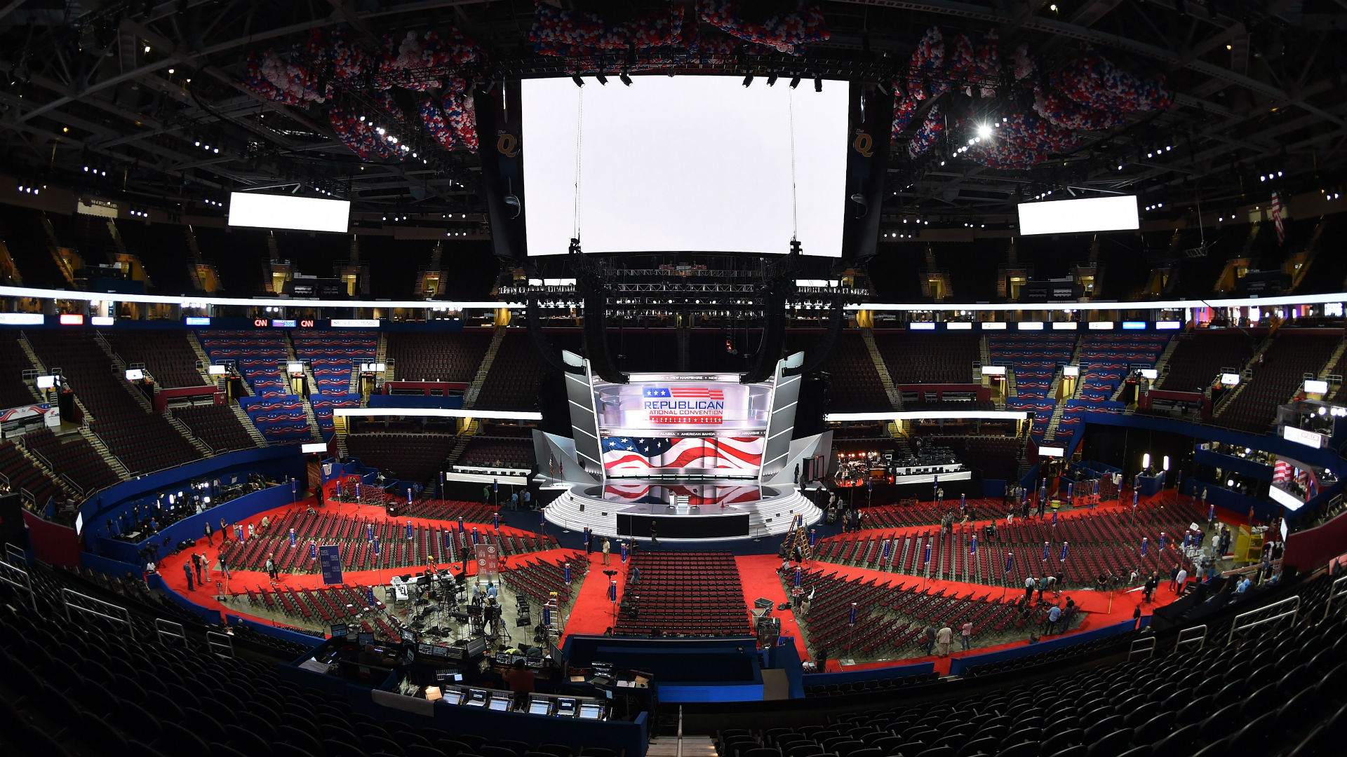 Seating charts quicken loans arena official website - Quicken Loans Arena Transforms For Republican National Convention Nba Sporting News