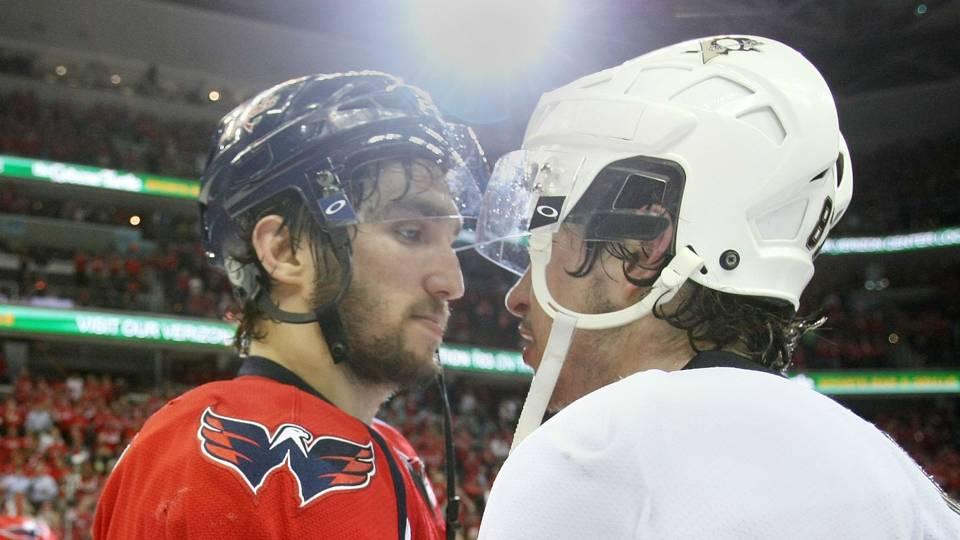 93c76bdd5e1 Alex Ovechkin slashes Sidney Crosby