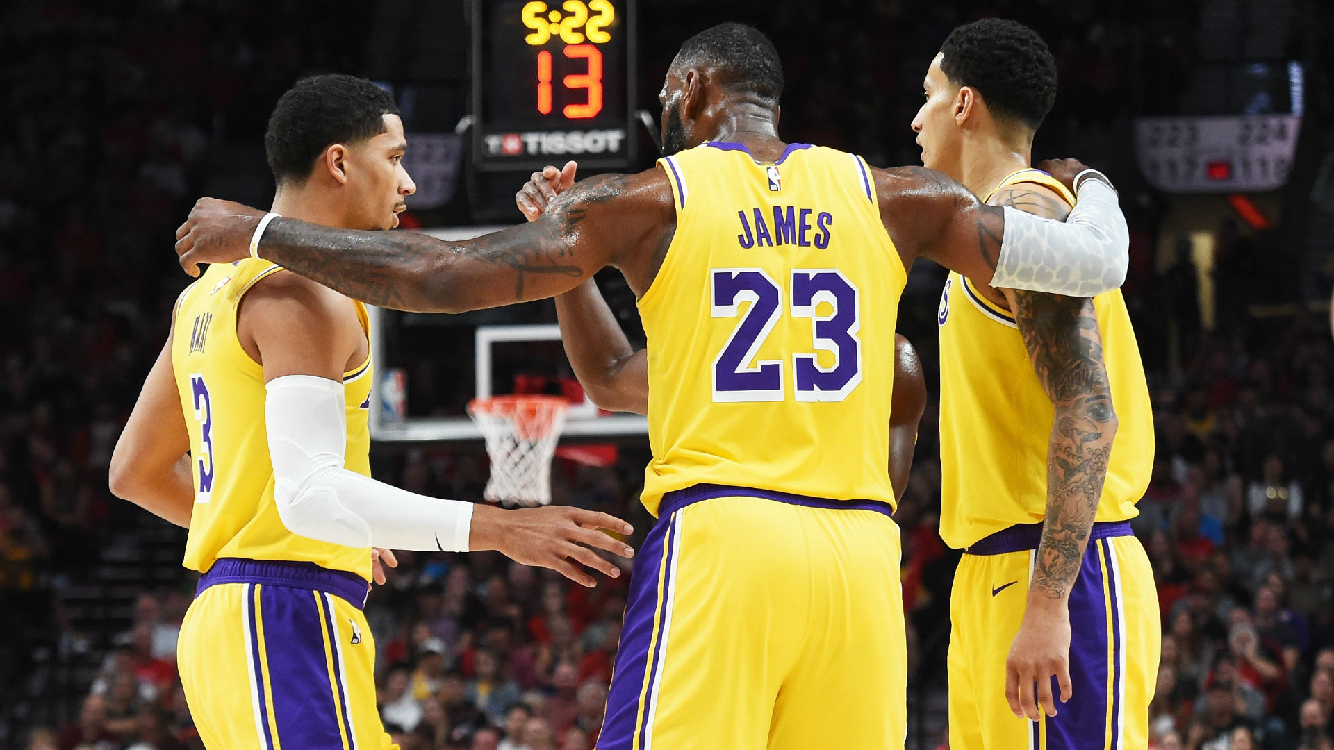Four key takeaways from LeBron James Lakers debut NBALakers