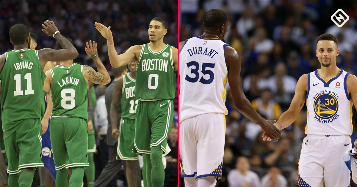 Warriors See Themselves And A Future Threat In Young Rising Celtics