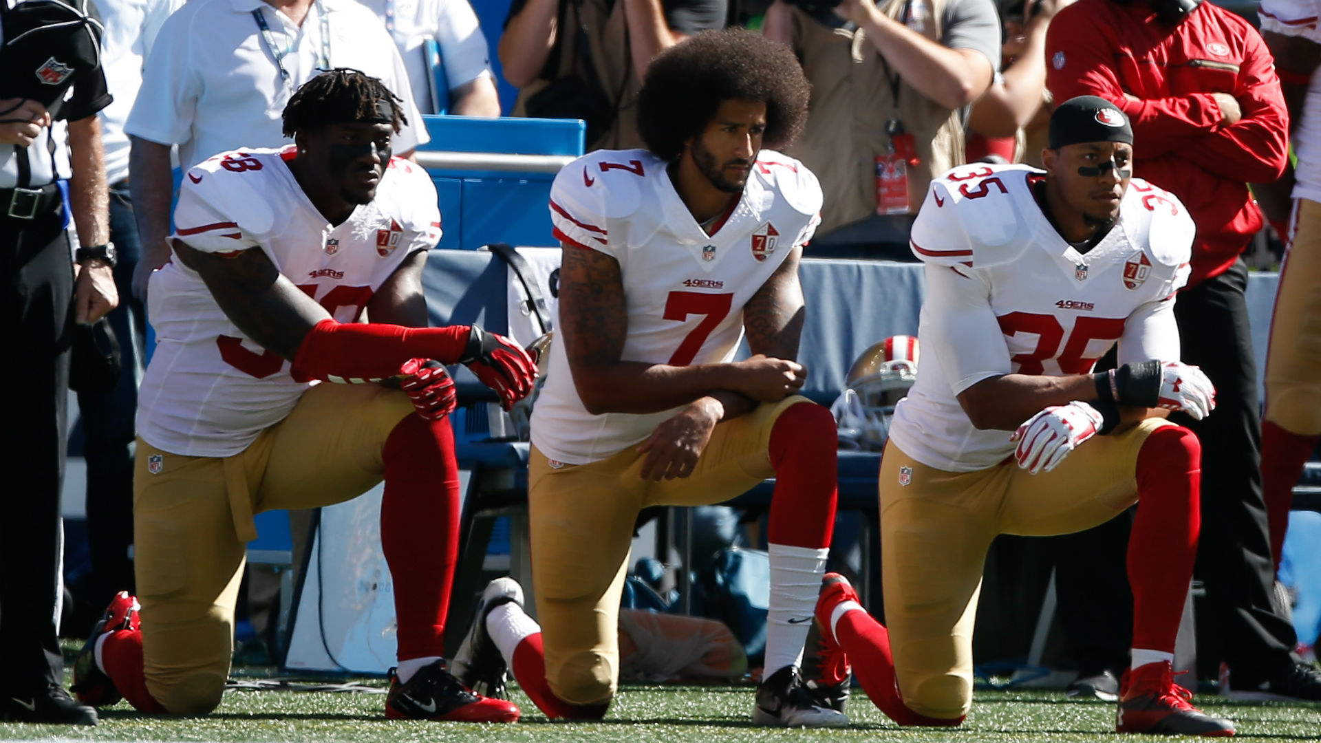 81119516322 Shock poll  A third of NFL TV viewers boycotting games because of Colin  Kaepernick-led protests
