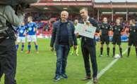 Fredrik Haugen - gullballen som Årets spiller i OBOS-ligaen