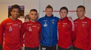Jakob Lillestjerna, Garib Gerkondani, Morten Pedersen, Henrik Carlyle og Brage Berg Pedersen
