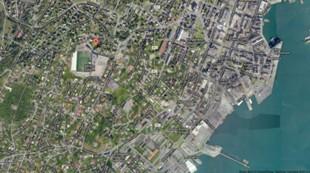 Kart over Alfheim Stadion