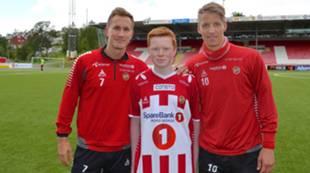Morten Gamst Pedersen, Kristian Esbensen og Thomas Lehne Olsen