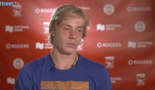 Shapovalov Interview: ATP Toronto 1R