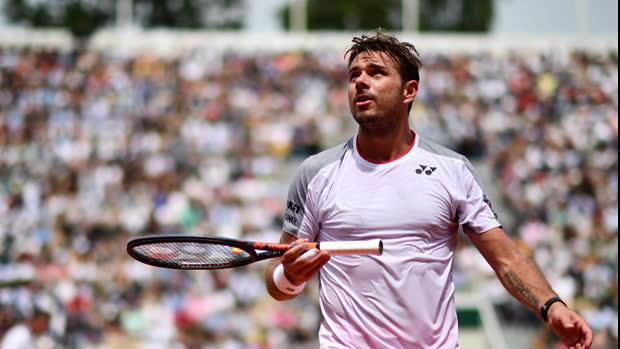 """Basket : Roland-Garros - Federer - """"J'avais décidé de faire autrement aujourd'hui"""""""