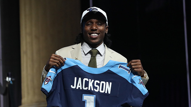 Titans select Adoree' Jackson No. 18 overall in the 2017 NFL Draft
