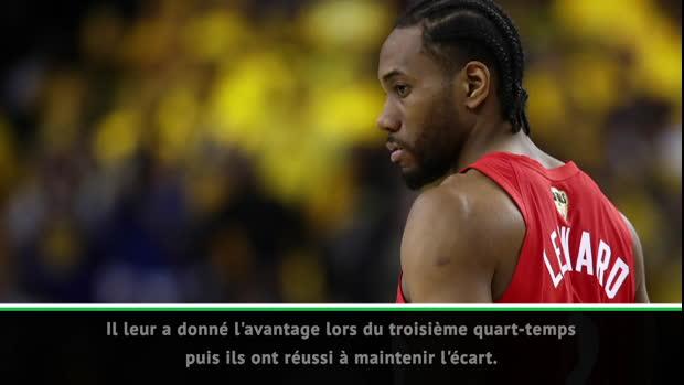 """Basket : NBA - Curry - """"Leonard a été fantastique"""""""