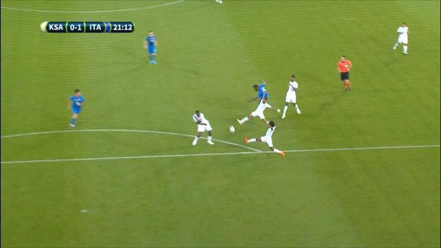 Balotelli scores on his Italy return Thumbnail