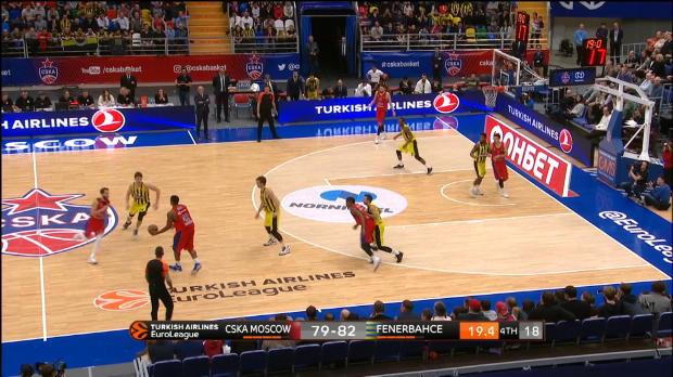 Basket : Euroligue (8e j.) - De Colo s'incline sur le fil face à Fenerbache