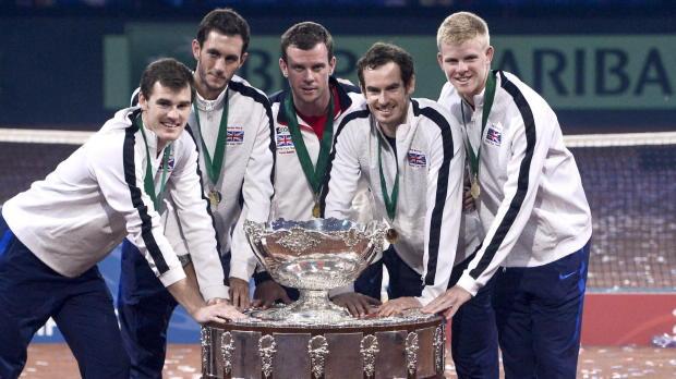 "Davis Cup: Hewitt: Murray ""schweißt zusammen"""
