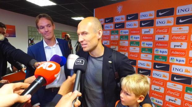"""Niederlande: Robben zu Abschied: """"Bin dankbar"""""""
