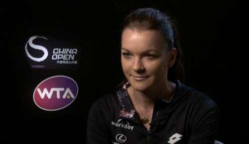 Radwanska Interview: WTA Beijing Final