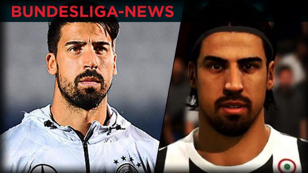 Bundesliga-News: Khedira beschwert sich über seine FIFA-Frisur
