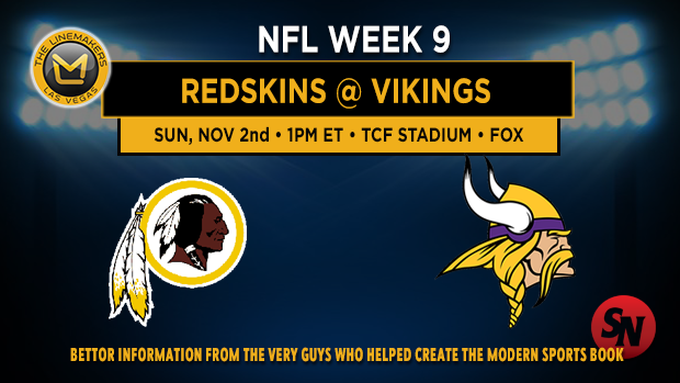 Washington Redskins @ Minnesota Vikings