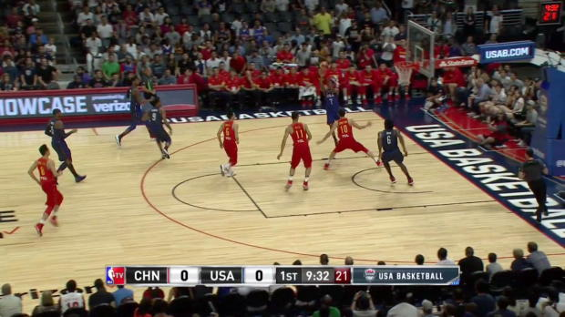 WSC: DeRozan (13pt), Jordan (12pt), Durant (19pt) combine to lead the way for Team USA