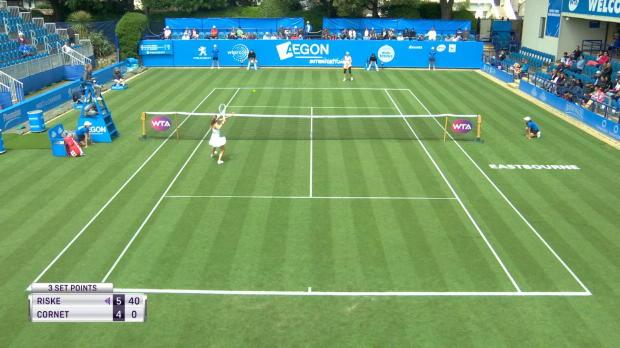 Tennis : Eastbourne - Cornet sortie au premier tour