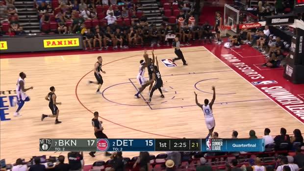 GAME RECAP: Nets 105, Pistons 85