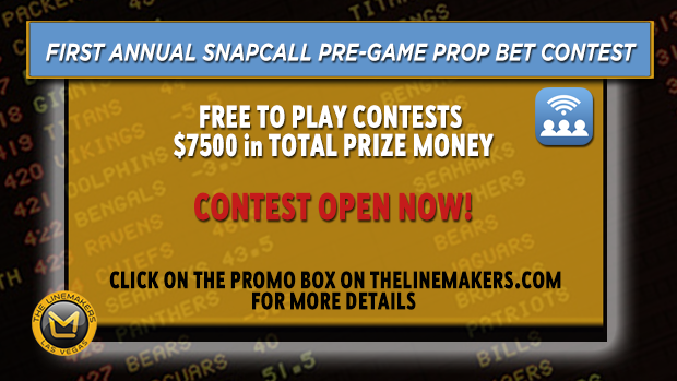 Linemakers / Snapcall NFL Prop Bet Contest