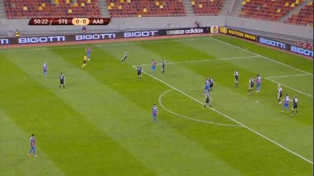 L.Europa : Steaua Bucarest - Aalborg