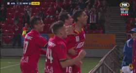 Adelaide's stand-in captain Marcelo Carrusca held his nerve from the penalty spot to open the scoring against the Jets.