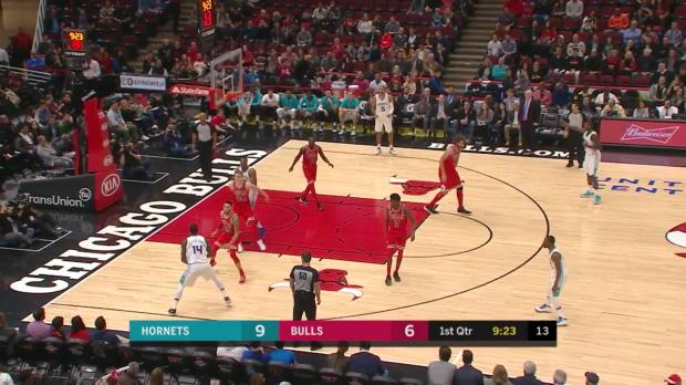 WSC: Kemba Walker (47 points) Game Highlights vs. Chicago Bulls