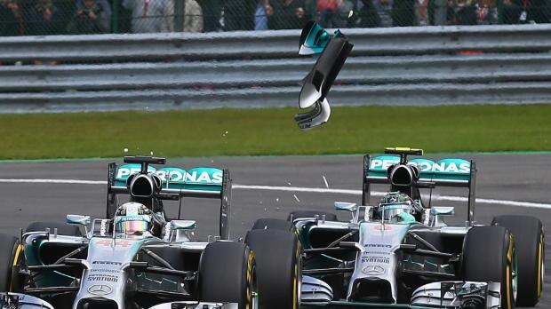 F1 - Rosberg, castigado por Mercedes